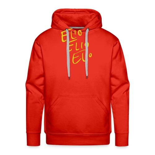 Elio Talking Heads Shirt - Men's Premium Hoodie