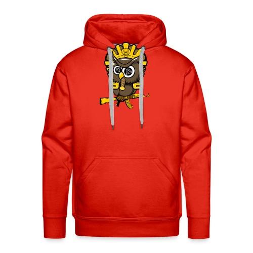 king otrg owl - Men's Premium Hoodie
