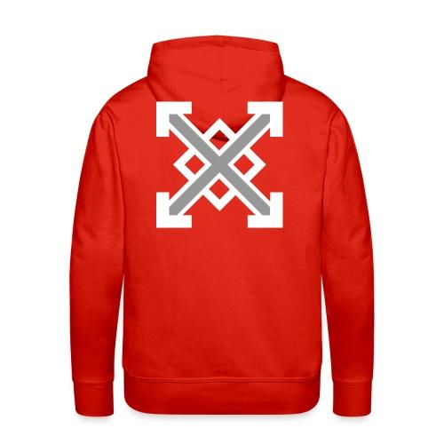 zegat1ve White - Men's Premium Hoodie