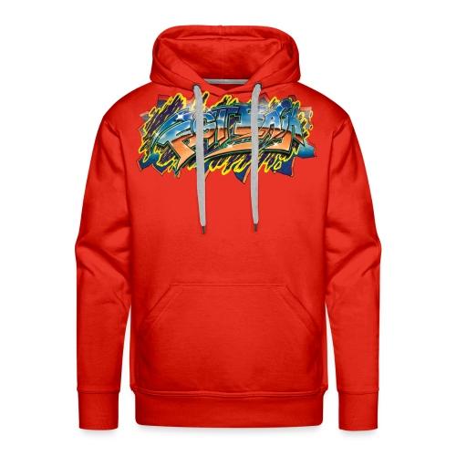 RSB Mural T shirt w/ Black RSB Logo - Men's Premium Hoodie