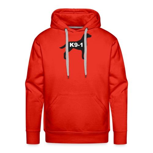 K9-1 logo - Men's Premium Hoodie
