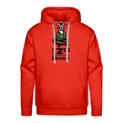 The Zen of Nimbus t-shirt / Nimbus color with logo - Men's Premium Hoodie