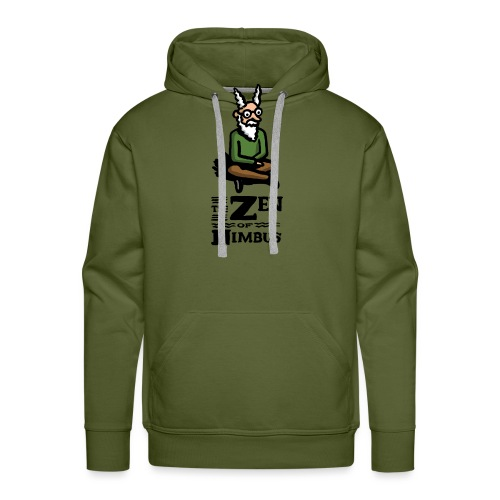 The Zen of Nimbus t-shirt / Nimbus color with logo - Men's Premium Hoodie