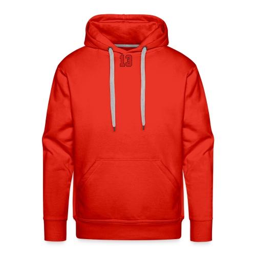 13 sports jersey football number1 - Men's Premium Hoodie