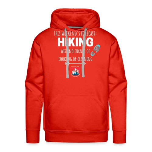 Forecast for the Weekend: Hiking - Men's Premium Hoodie