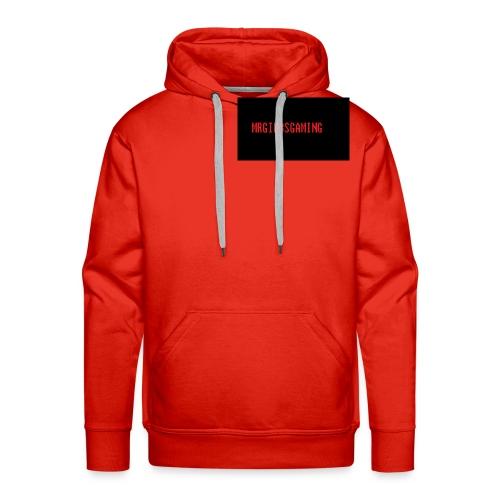 mrgibbsgaming logo - Men's Premium Hoodie