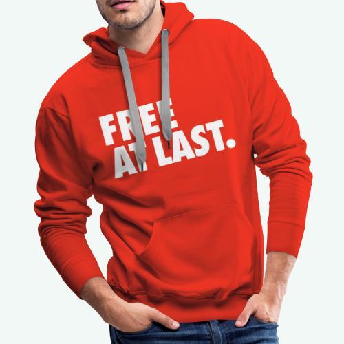FREE AT LAST - Men's Premium Hoodie