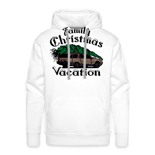 Griswold Wagon Christmas Tree Christmas Vacation - Men's Premium Hoodie