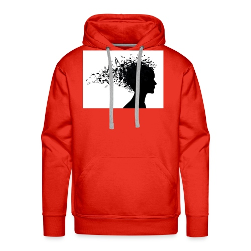 music through my head - Men's Premium Hoodie