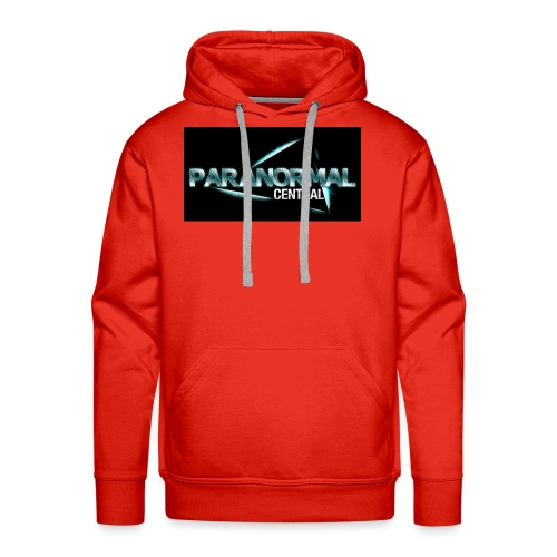 Paranormal Central On Black - Men's Premium Hoodie