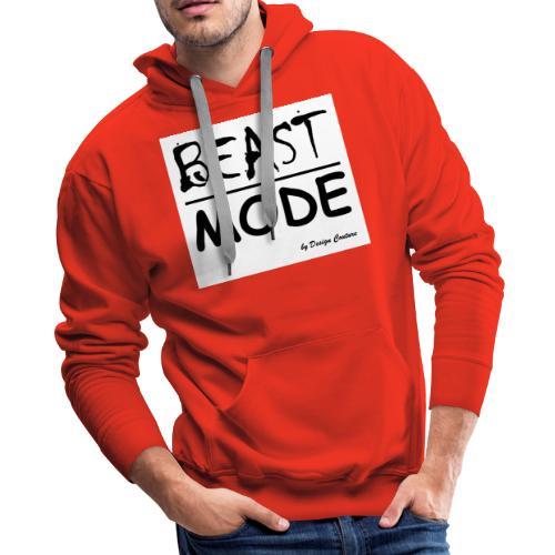 MODE, BEAST-BLACK - Men's Premium Hoodie