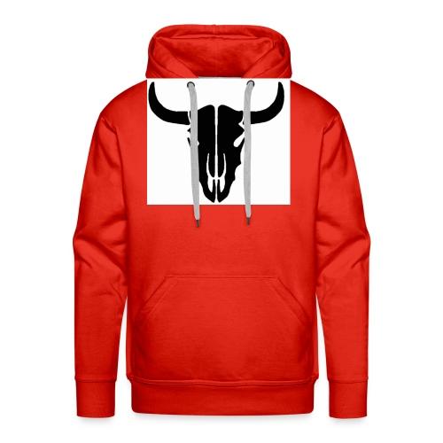 Longhorn skull - Men's Premium Hoodie