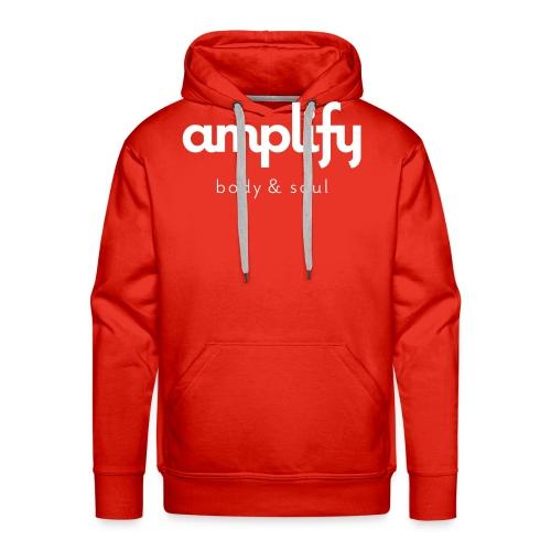 amplify logo - Men's Premium Hoodie