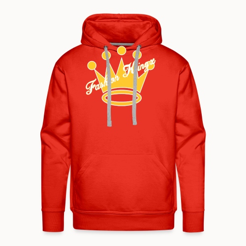 Fashion Kingz Clothing Official Crown Logo - Men's Premium Hoodie