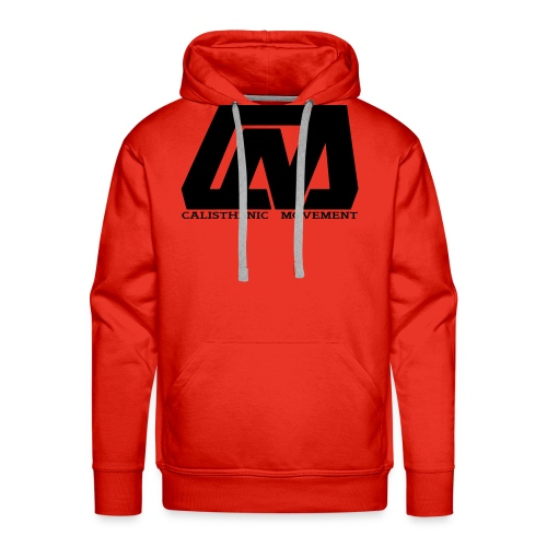 Cali Move Front black women - Men's Premium Hoodie