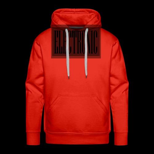 Electronic Logo - Men's Premium Hoodie