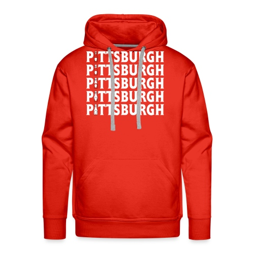Ketch Up in PGH (Red) - Men's Premium Hoodie