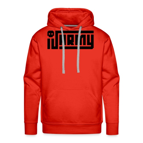 iJustine - iJ Army Logo - Men's Premium Hoodie
