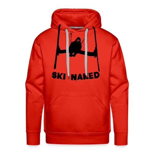 Ski Naked - Men's Premium Hoodie