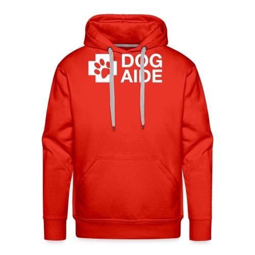 DA Logo White - Men's Premium Hoodie