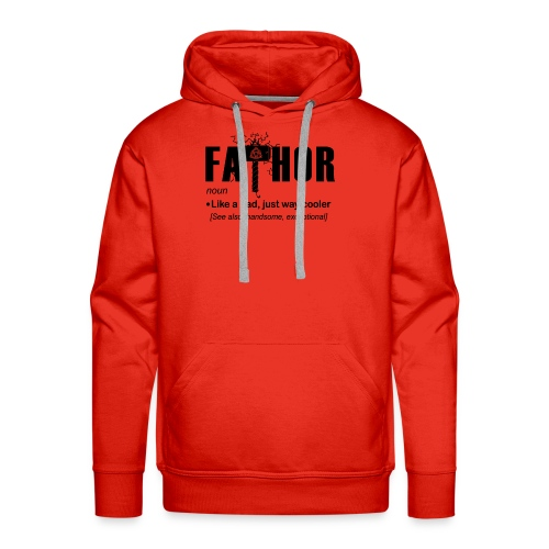Fa Thor Like Dad Just Way - Men's Premium Hoodie