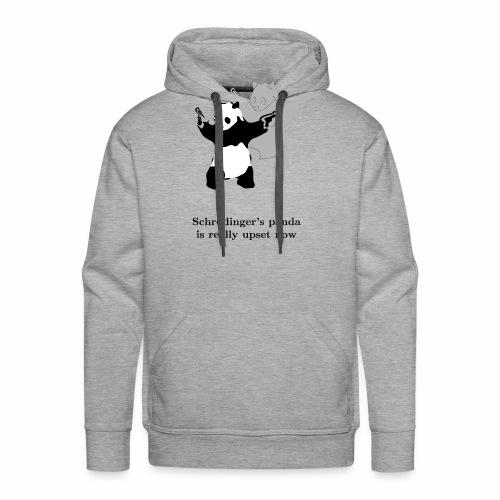 Schrödinger's panda is really upset now - Men's Premium Hoodie