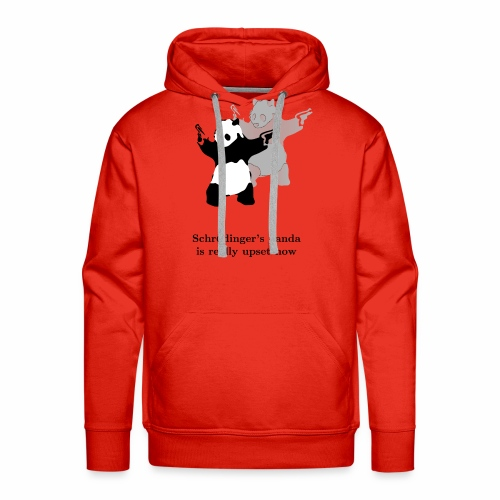 Schrödinger's panda is really upset now - Men's Premium Hoodie