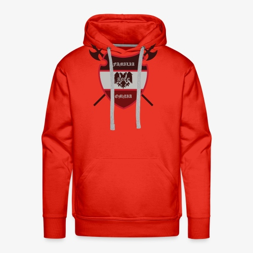 House Pendragon Crest - Family Before All - Men's Premium Hoodie