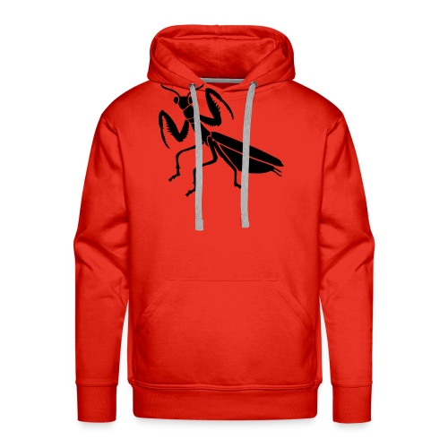 praying mantis bug insect - Men's Premium Hoodie