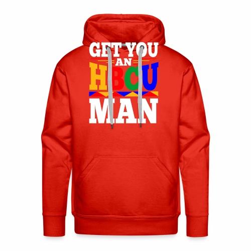 HBCU MAN - Men's Premium Hoodie