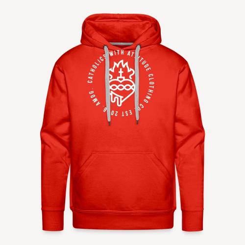CATHOLICS WITH ATTITUDE CLOTHING CO. - Men's Premium Hoodie