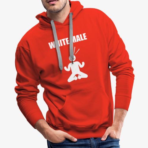white male knees - Men's Premium Hoodie