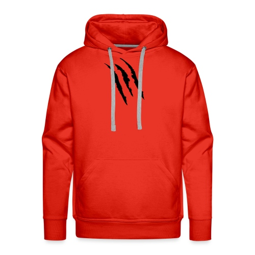 3 claw marks Muscle shirt - Men's Premium Hoodie