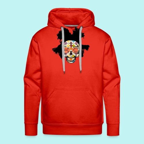 BASQUIAT SKULLY - Men's Premium Hoodie