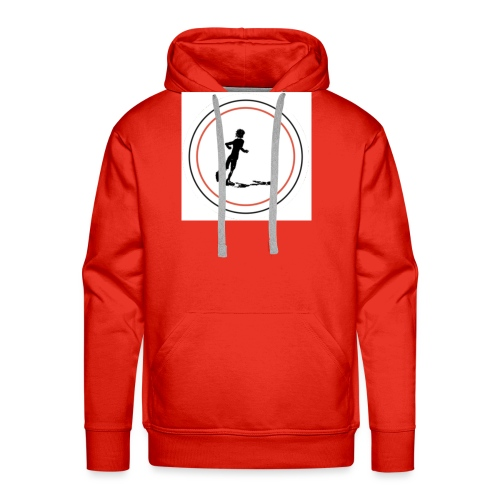 Keep On Running - Men's Premium Hoodie