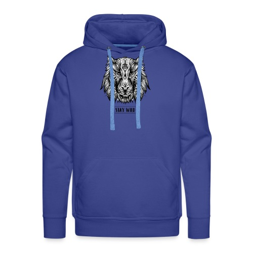 Stay Wild - Men's Premium Hoodie