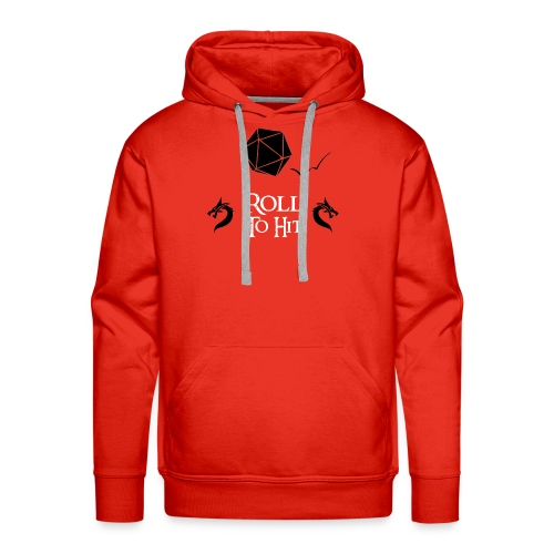 Roll to Hit - Men's Premium Hoodie