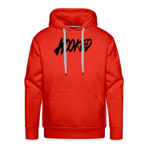 Hooked black logo - Men's Premium Hoodie