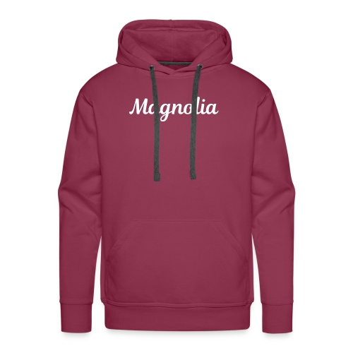 Magnolia Abstract Design. - Men's Premium Hoodie