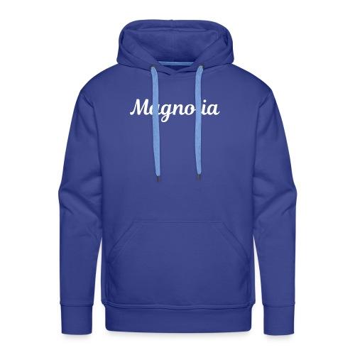 Magnolia Abstract Design. - Men's Premium Hoodie