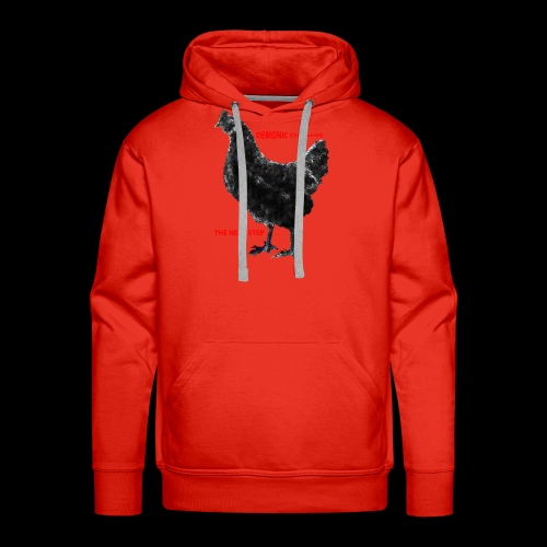 DEMONIC CHICKEN - Men's Premium Hoodie