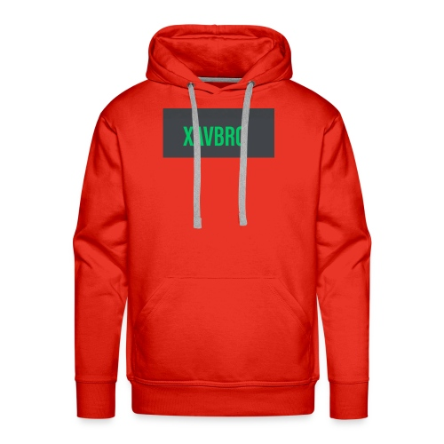 xavbro green logo - Men's Premium Hoodie