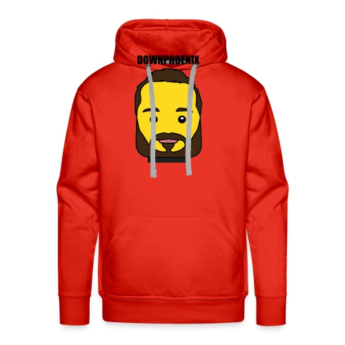 Downphoenix Face Mode - Men's Premium Hoodie