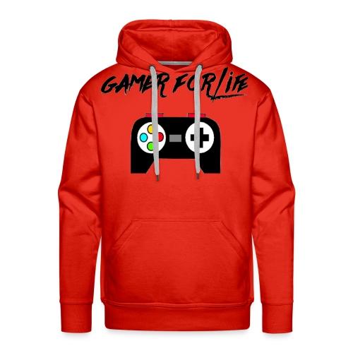 gamer for life1 - Men's Premium Hoodie