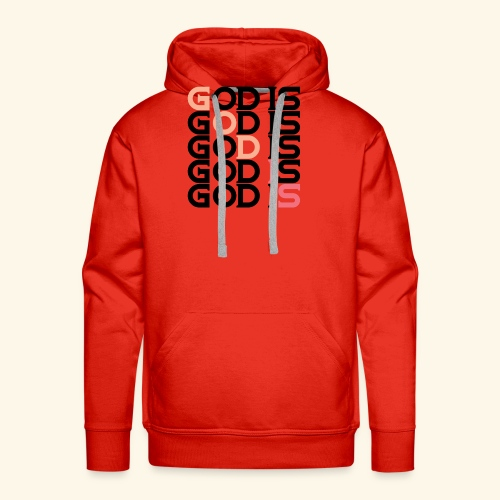 GOD IS #1 - Men's Premium Hoodie