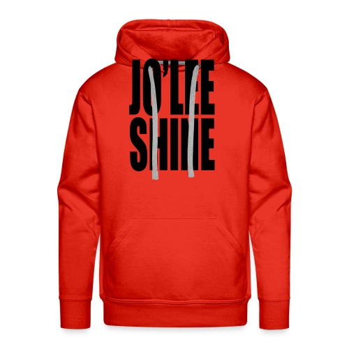 JO'LEE SHINE WOMEN'S T SHIRT WHT/PNK - Men's Premium Hoodie