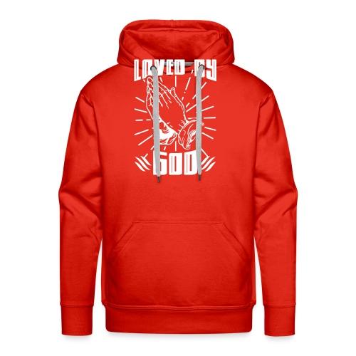 Loved By God - Men's Premium Hoodie