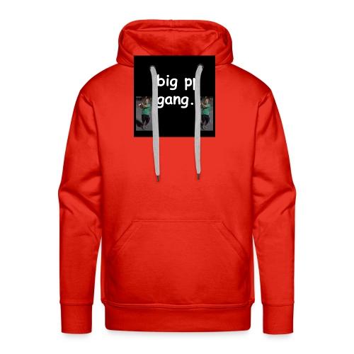 big pp gang - Men's Premium Hoodie
