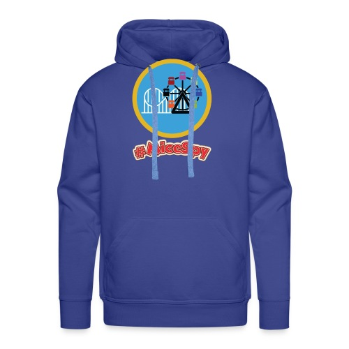 Paradise Pier Explorer Badge - Men's Premium Hoodie