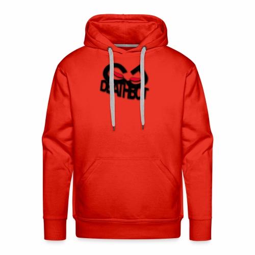 CJDEATHBOT logo - Men's Premium Hoodie